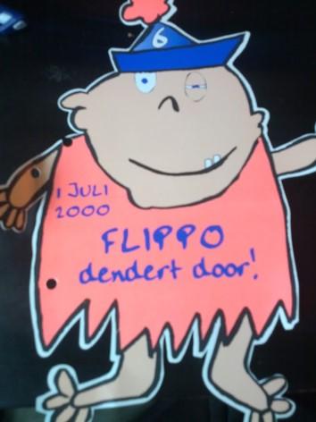 Flippo dendert door! - Flippofeest Hoogmade