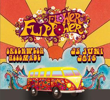 Flower Flippower - Flippofeest Hoogmade